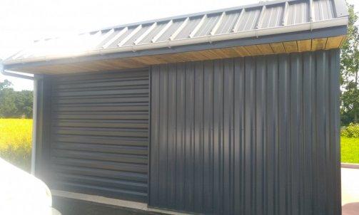 Bardage garage